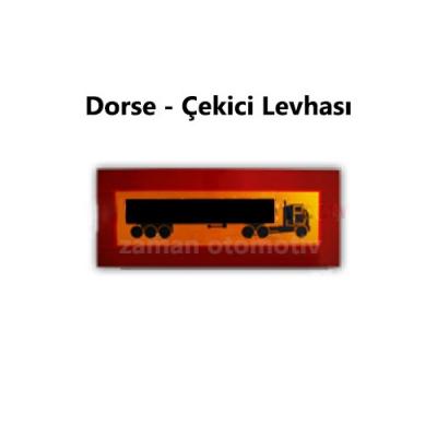 Dorse - Çekici Levhası