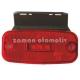 Dorse Lamba 24 Volt Universal Hella Tipi Kırmızı Braketli