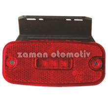 Dorse Lamba 24 Volt Universal Hella Tip Kırmızı Braketli