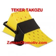 Teker Takozu - Plastik Kamyon Tipi