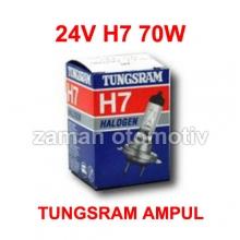 24V H7 Tungsram Far Ampulü - Uzun Ömürlü