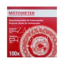 Takograf Kağıdı - 180 km - Motometer