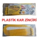 Plastik Kar Zinciri - 10 Lu paket