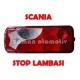 Scania Stop Lambası - Yeni Model