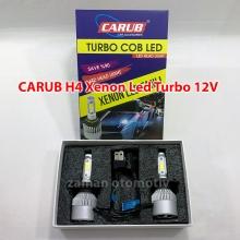 CARUB H4 Xenon Led Turbo 12V Fanlı C.O.B - Şimşek Etkili