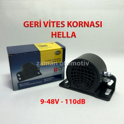 Hella Forklift İş Makinası Geri Vites Kornası Buzzer 9-48V 110DB - 3SL009148141