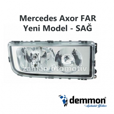 Mercedes Axor FAR Yeni Model - SAĞ