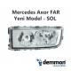 Mercedes Axor FAR Yeni Model - SOL