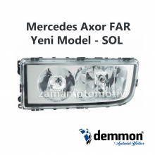 Mercedes Axor FAR Yeni Model - SOL