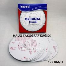 Takograf Kağıdı - 125 km - HAUG