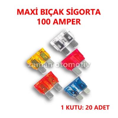MAXI BIÇAK SİGORTA 100 AMP.