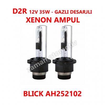 D2R 12V 35W GAZLI DESARJLI XENON AMPUL - BLICK AH252102