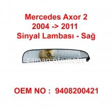 Mercedes Axor 2 Sinyal Lambası Demmon - Sağ