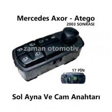 Mercedes Axor - Atego Sol Ayna Ve Cam Anahtarı SS980