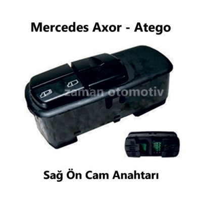Mercedes Axor - Atego Sağ Ön Cam Anahtarı SS982