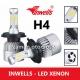 INWELLS H4 Led Xenon - 6500K Fanlı - Şimşek Etkili