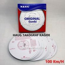 Takograf Kağıdı Haug - 100 km