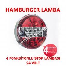 Hamburger Stop Lamba - 4 Fonksiyonlu