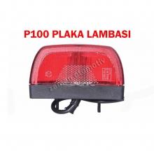 Plaka Lambası - Ampullü - Otosan P100