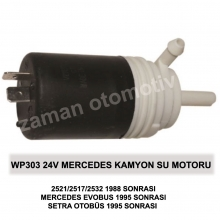 24V MERCEDES KAMYON 2521/2517 SU MOTORU - WP303