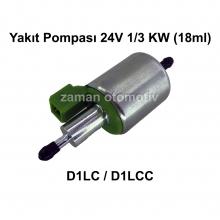 Yakıt Pompası 24V 1/3 KW (18ml) D1LC / D1LCC