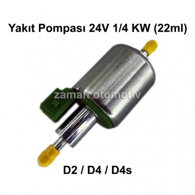Yakıt Pompası 24V 1/4 KW (22ml) D2 / D4 / D4s