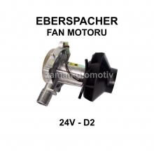 EBERSPACHER FAN MOTORU 24V - D2