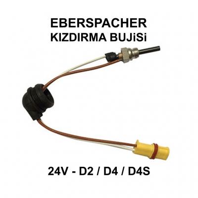 EBERSPACHER KIZDIRMA BUJiSi 24V - D2, D4, D4S - 252070011100