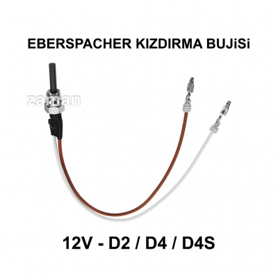 EBERSPACHER KIZDIRMA BUJiSi 12V - D2, D4, D4S