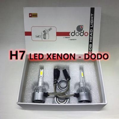 DODO H7 Xenon Led Turbo 12V Fanlı - Şimşek Etkili