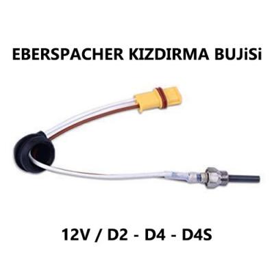 EBERSPACHER KIZDIRMA BUJiSi 12V - D2, D4, D4S - 252069011300