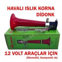 12V Islık Korna Didonk - Havalı