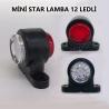 Mini Star Yan Lamba 12 Ledli